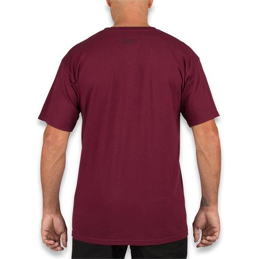 Тениска 5.11 Tactical ABR 2.0 Loco, burgundy 41006CZ-558