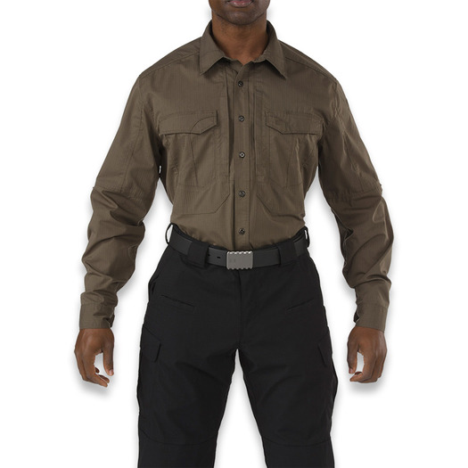 5.11 Tactical Stryke Long Sleeve Shirt, tundra 72399-192