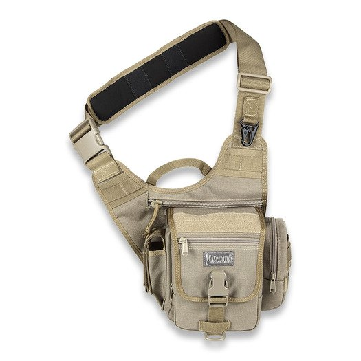 Maxpedition FatBoy S-type Versipack shoulder bag, khaki