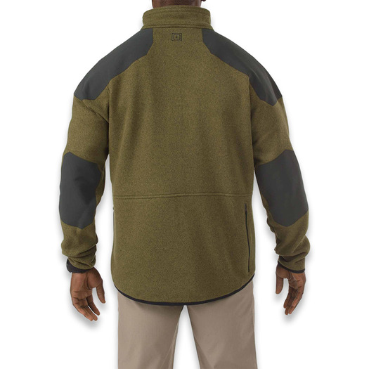 5.11 Tactical Tactical Full Zip Sweater jacket, field green 72407-206