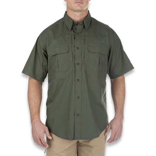 5.11 Tactical Taclite Pro Short Sleeve Shirt, tdu green 71175-190