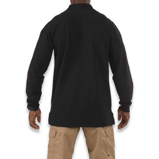 5.11 Tactical Utility Polo Long Sleeve, juoda 72057-019
