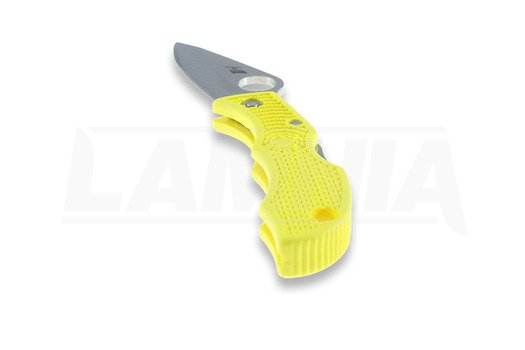 Spyderco Ladybug 3 folding knife, FRN, yellow LYLP3