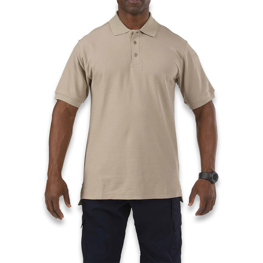 5.11 Tactical Utility Polo Short Sleeve, silver tan 41180-160