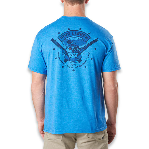 T-shirt 5.11 Tactical Patriot, royal heather 41191DX-741