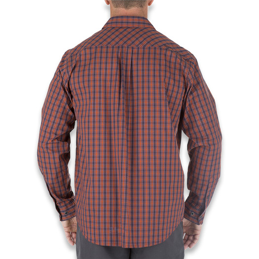 5.11 Tactical Covert Flex Long Sleeve Shirt, fireball 72428-521
