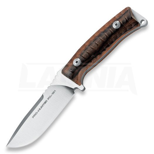 Nóż myśliwski Fox Cutlery Pro-Hunter, desert wood
