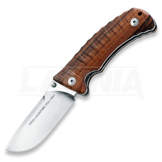 Coltello pieghevole Fox Cutlery Pro-Hunter, santos wood