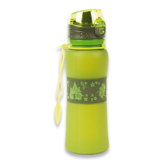 Retki Moomin Adventure silicone bottle 0,5, verde