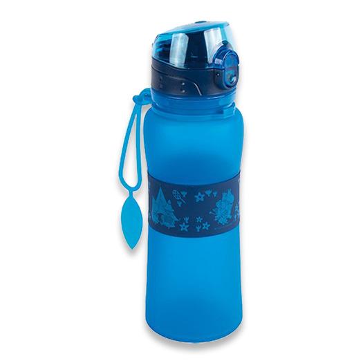 Retki Moomin Adventure silicone bottle 0,5, mėlyna