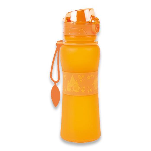 Retki Moomin Adventure silicone bottle 0,5, portocaliu
