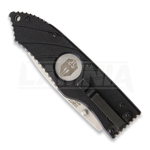 Zavírací nůž Hoffner Knives Hoffner Linerlock, černá
