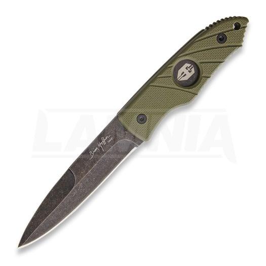 Hoffner Knives Hand Spear Standard Edge Olive