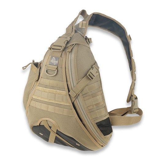 Seljakott Maxpedition Monsoon GearSlinger, khaki