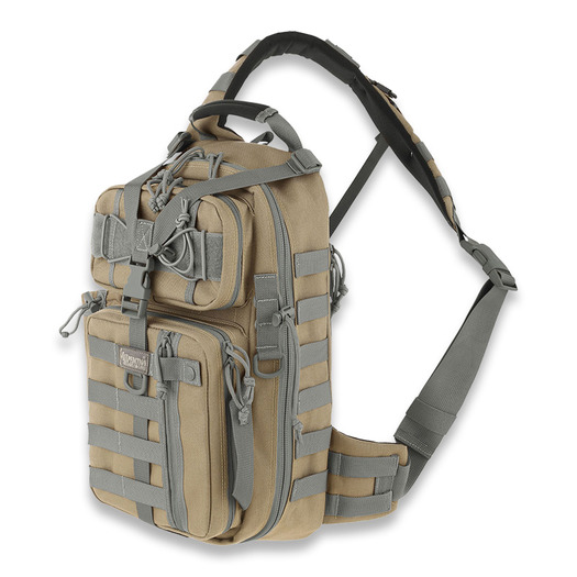 Maxpedition Sitka Gearslinger バックパック, カーキ色-foliage