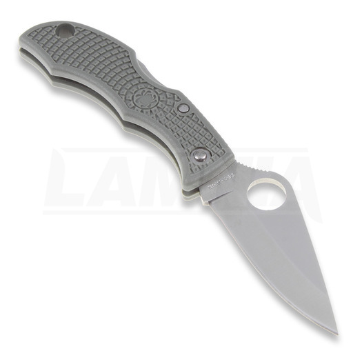 Spyderco Ladybug 3 folding knife, FRN, foliage green