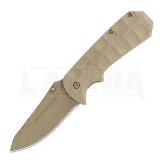 Coltello pieghevole Browning Unleashed A/O Desert Tan