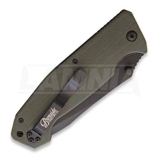 Burnside Knives Cabrillo Linerlock Green סכין מתקפלת