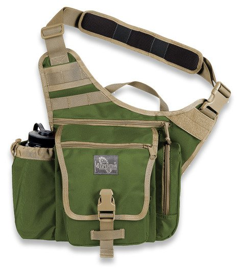 Чанта за рамо Maxpedition Jumbo K.I.S.S. Green/Khaki