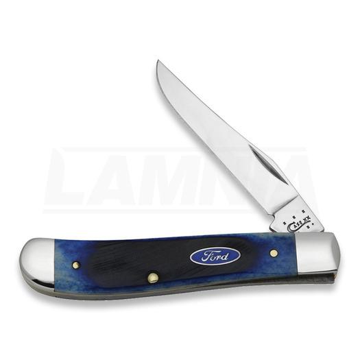 Saliekams nazis Case Cutlery Mini Trapper Blue Bone 14304