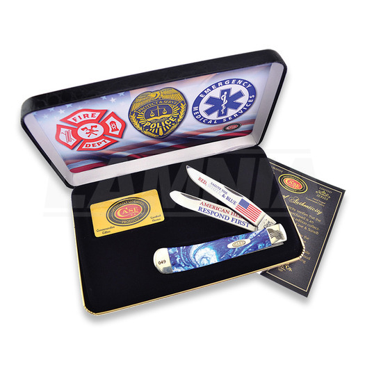 Couteau pliant Case Cutlery American Hero Trapper BC1ST