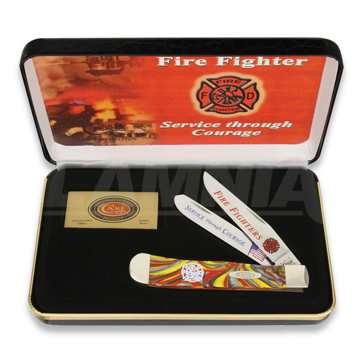 Case Cutlery Firefighter Trapper pocket knife FF