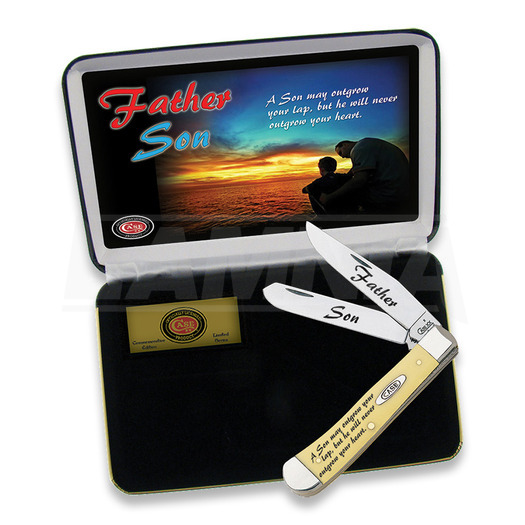 Case Cutlery Father/Son Trapper Ltd Edition pocket knife FSY