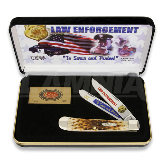 Case Cutlery Law Enforcement Trapper סכין מתקפלת LE