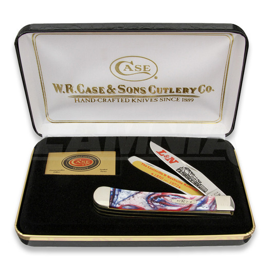 Pocket knife Case Cutlery L&N Railroad Trapper Set LNSTAR