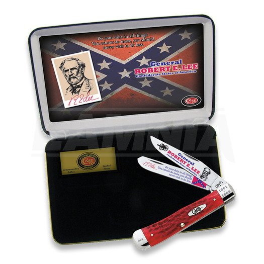Pocket knife Case Cutlery General Robert E Lee Trapper REL