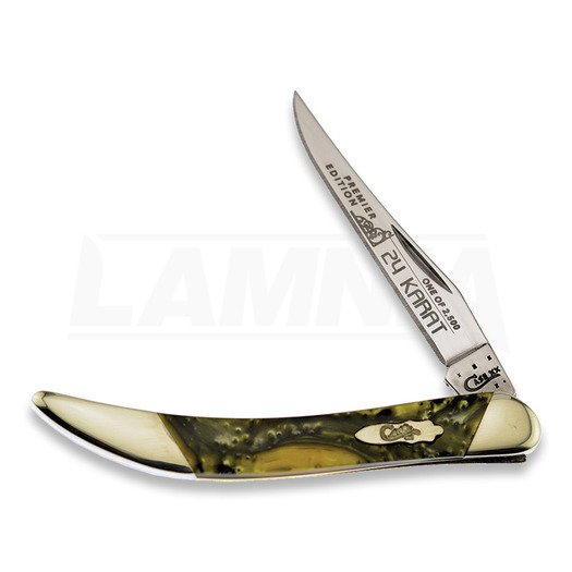 Case Cutlery Small Toothpick 24 Karat pocket knife S91009624KT