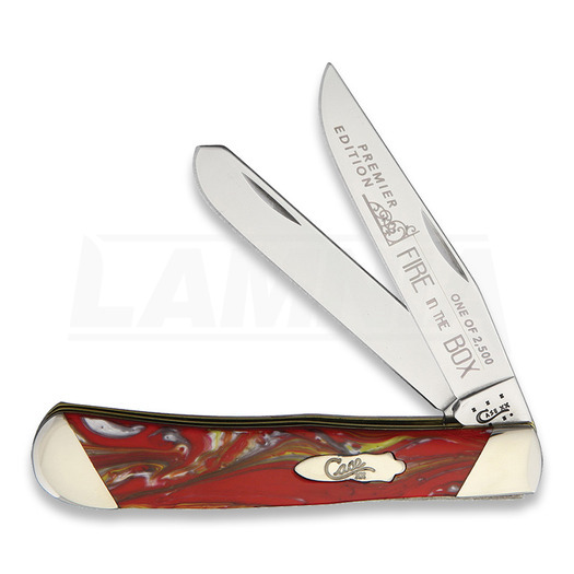 Case Cutlery Trapper Fire in the Box pocket knife S9254FIB