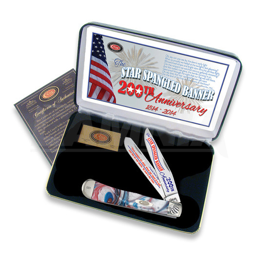 Case Cutlery Star Spangled Trapper pocket knife SSBSTAR