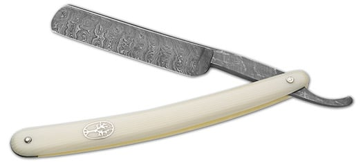 Böker Damast Stainless straight razor