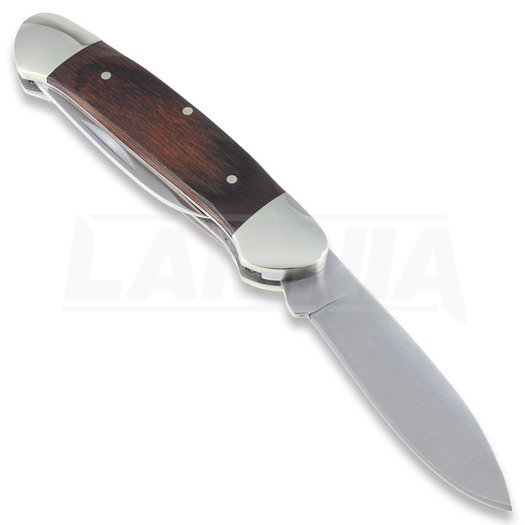 Buck Canoe folding knife, wood