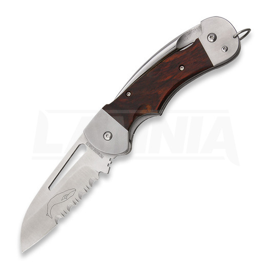 Myerchin Generation 2 Captain Pro Wood folding knife, combo edge