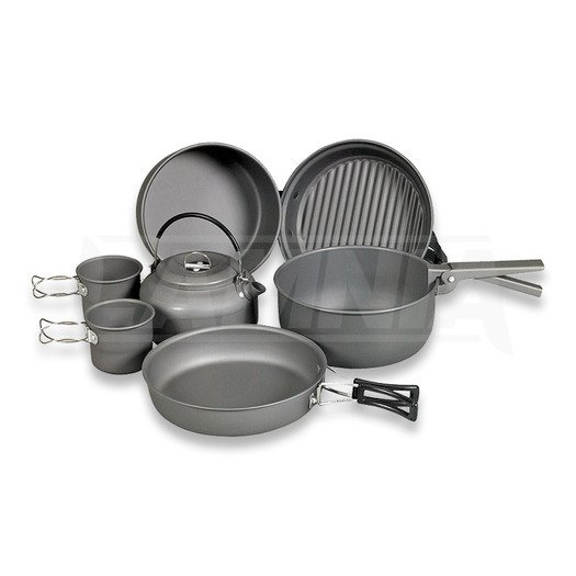 NDuR Cookware Mess Kit with Kettle