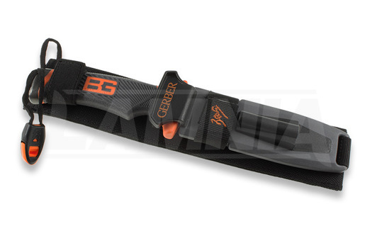 Cuchillo de supervivencia Gerber Bear Grylls Ultimate Fixed Blade, hoja dentada