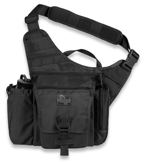 Maxpedition Jumbo K.I.S.S. skuldertaske, sort