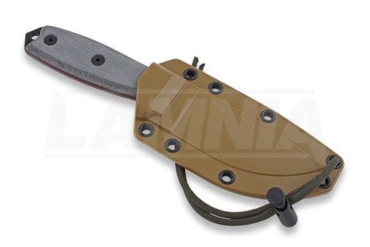 Cuchillo de supervivencia ESEE Model 3, negro