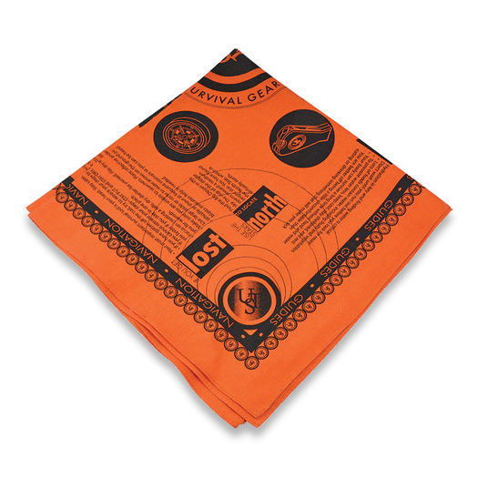 UST Survival Bandana Orange