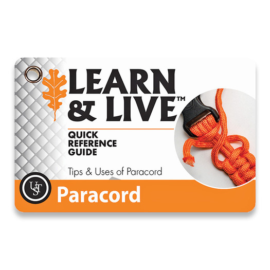 UST Learn & Live Cards Paracord