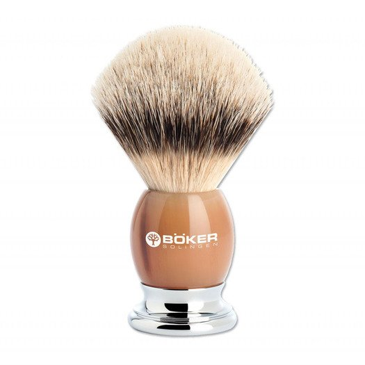Böker Premium Horn Shaving brush 04BO133