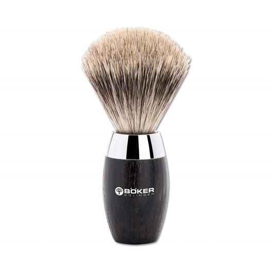 Böker Modern Bog Oak Shaving brush 04BO131