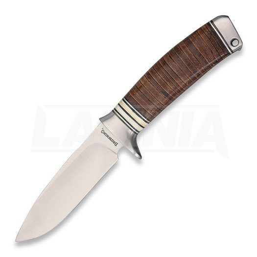Browning Stacked Leather Fixed Blade kniv