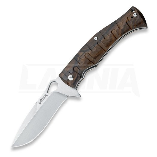 Fox Cutlery Deimos folding knife, wood