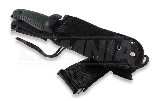 Cuchillo de supervivencia Viper David, verde