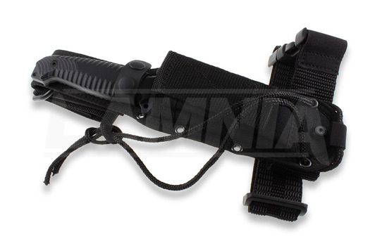 Viper Golia survival knife, black