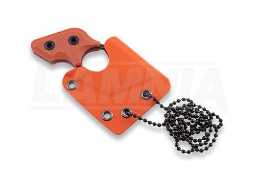 RealSteel Black Cat Blackwash knife, orange 3123