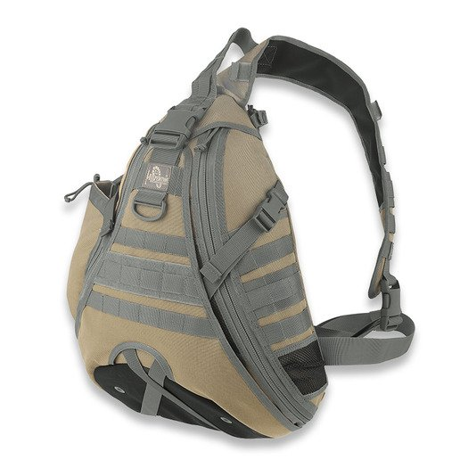Mochila Maxpedition Monsoon Gearslinger, Khaki Foliage